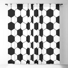 Soccer ball pattern Blackout Curtain