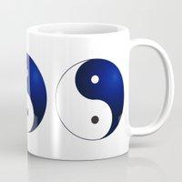 ying yang Mugs featuring Ying Yang by Timeless-Id