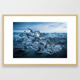 Dragon's Skull in Iceland Framed Art Print