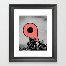 Pacific Pin Framed Art Print