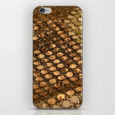 Shiny glitter #2 #gold #decor #art #society6 iPhone & iPod Skin