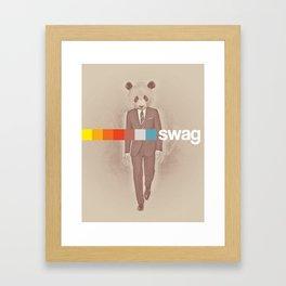 Swag Framed Art Print