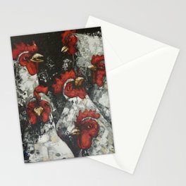 Across a crowded room Stationery Cards