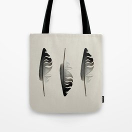 Feathers in The Light Tote Bag