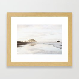 Mount Maunganui Framed Art Print