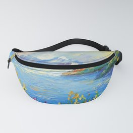 Lake in the Alps Fanny Pack