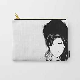 Amy back to just black Carry-All Pouch