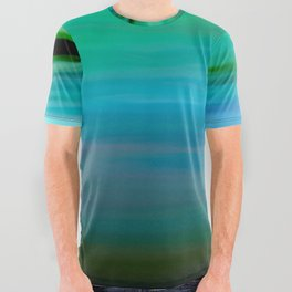 Seascape - blurography All Over Graphic Tee
