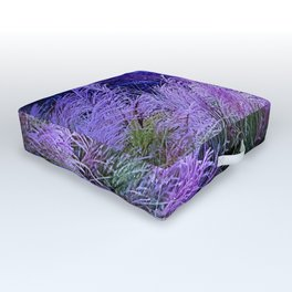 Purple long grass Outdoor Floor Cushion