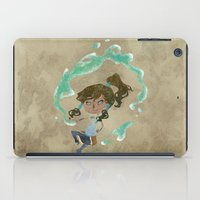 korra iPad Cases featuring Chibi Korra by Serena Rocca