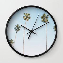 Beach Palms Wall Clock