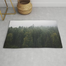 Into the Forest I go – Moody Landscape Photography Rug