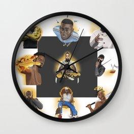 Killa Beez Complete Wall Clock