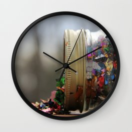 Sparkle Spill  Wall Clock