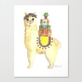 All packed Alpaca Canvas Print