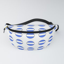 Flag of argentina 2 -Argentine,Argentinian,Argentino,Buenos Aires,cordoba,Tago, Borges. Fanny Pack
