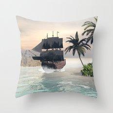 Fantastic seascape Throw Pillow