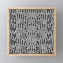Odd one out Geometric Framed Mini Art Print