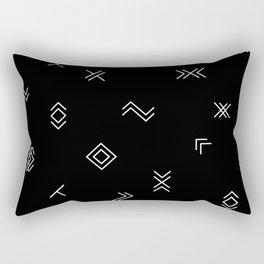 Lost Simbols Rectangular Pillow