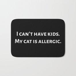 The Allergic Cat Bath Mat
