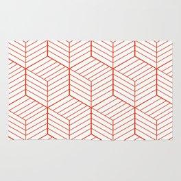ZADA ((cherry red)) Rug