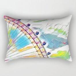 I Dream of Ferris Wheel Rectangular Pillow