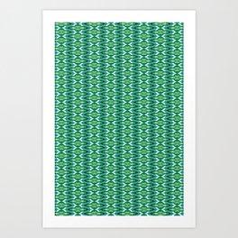 Glitch Pattern 2 Art Print