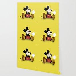 MickeyMouse Smoking Wallpaper