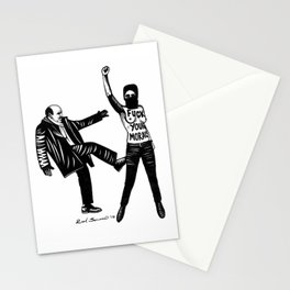 Femen. Fuck Your Moral Stationery Cards