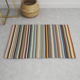 Nordic Stripes Vertical Pattern Rug