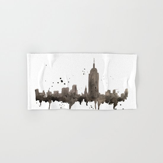 NYC Skyline Hand & Bath Towel