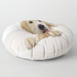Love Dogs Dog Groomer Paw Print Grooming Cute Floor Pillow