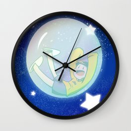 Jyushimatsu bubble Wall Clock