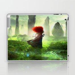 Merida The Brave - Portrait Merida Walking Laptop & iPad Skin