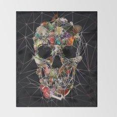 Fragile Skull Throw Blanket