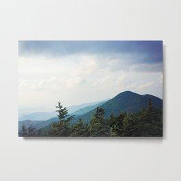 Atop Mt Mitchell Metal Print