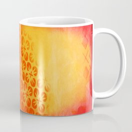 Firery Flowering Coffee Mug