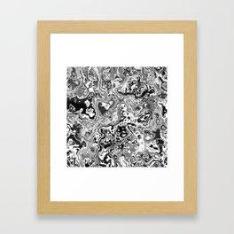 Colorless World Framed Art Print