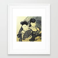 gothic Framed Art Prints featuring Gothic by Birgit
