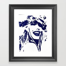 Blue II Framed Art Print