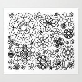 Bloomsiful Art Print