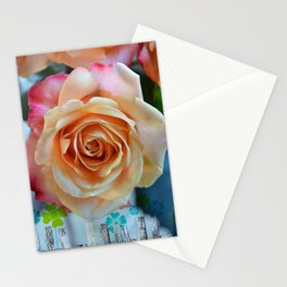 A gorgeous rose in full bloom Stationery Cards