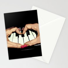 For the Love of Music Stationery Cards