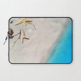 Beach Shore Scene Laptop Sleeve
