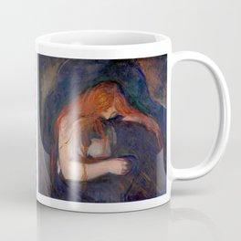 Edvard Munch - Love and Pain (The Vampire) Coffee Mug