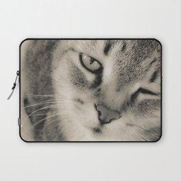 Kitty Cat Kiss Laptop Sleeve