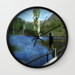 The Obelisk Wall Clock