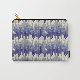 Amethyst abstract city ladscape Carry-All Pouch