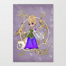 Fairy Princess .. fantasy Canvas Print