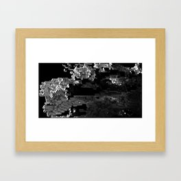 Cellular Automata 01 Framed Art Print